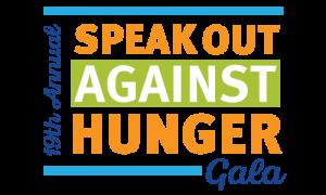 speak out against hunger logo